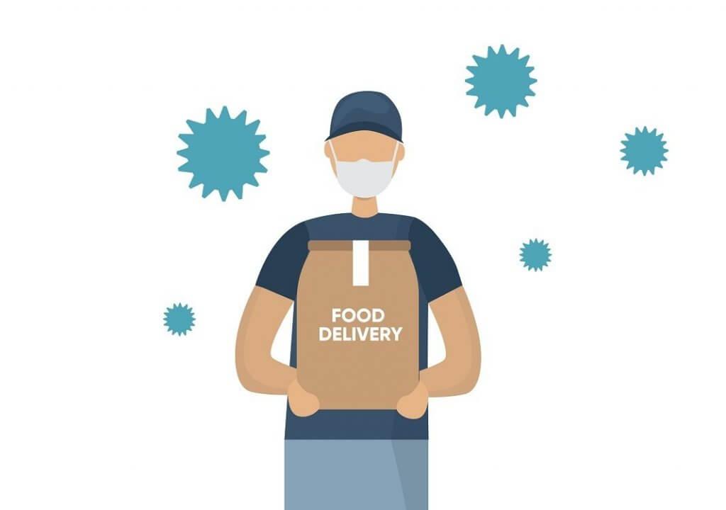 corona-food-delivery